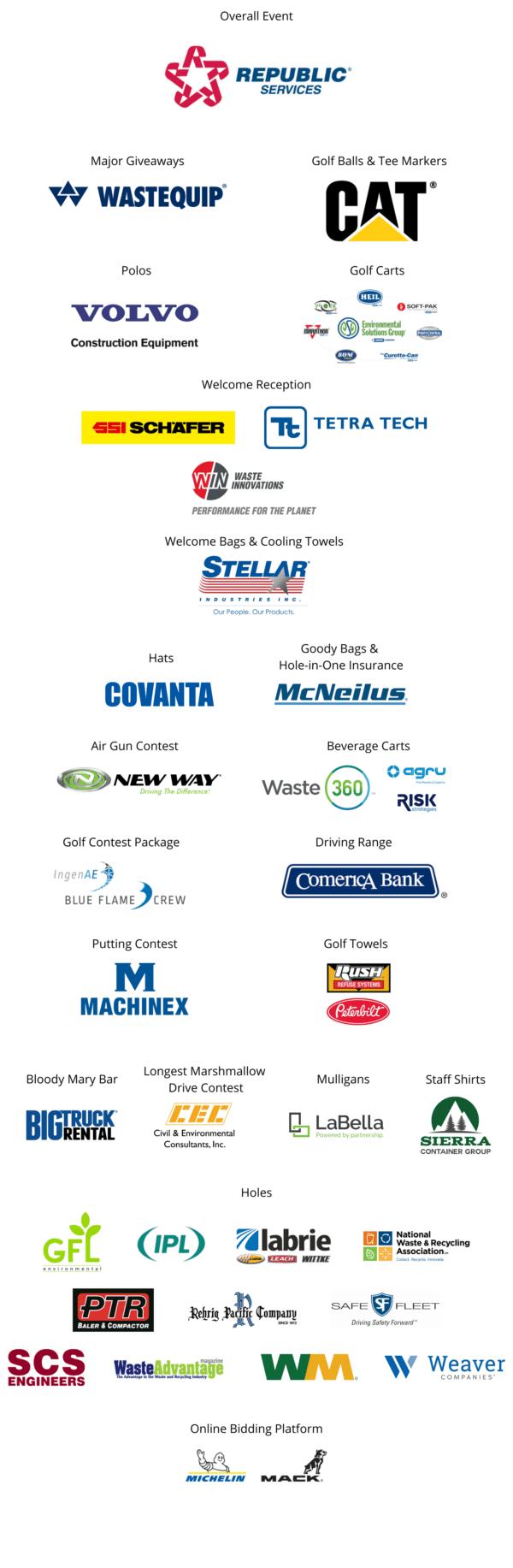 2021 Fall Classic Sponsor Logos